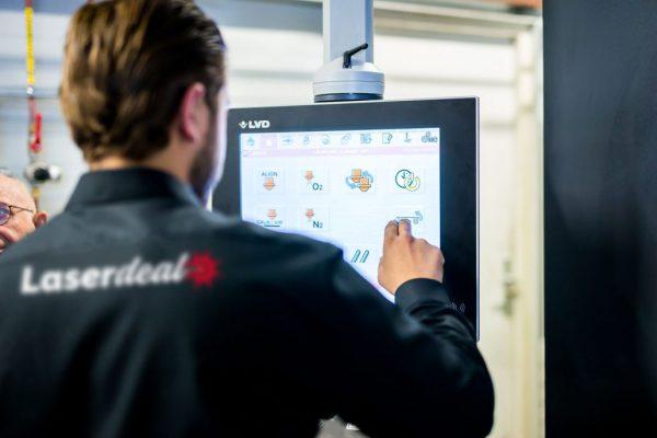 Het lasersnijden online